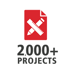 Coreworx is being used on more that 2,000 capital projects around the world