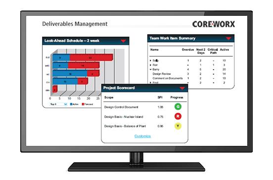 Coreworx Deliverables Management