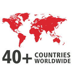 Coreworx is used across 40 countries world wide