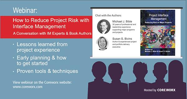 Webinar: Project Interface Management Book